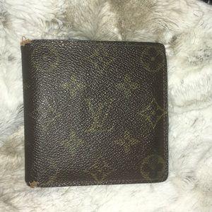 LV men's monogram wallet